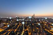 Shanghai, Computer Network, Technology, Big Data, China - East Asia, Cityscape