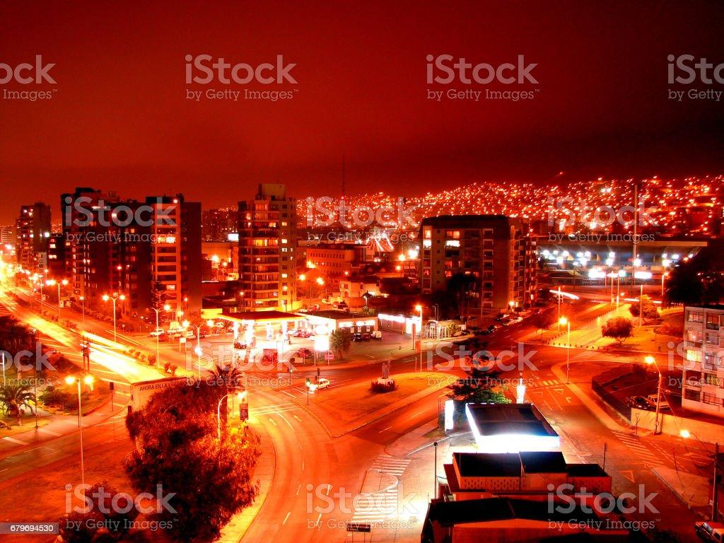 Fotografía De City Night Ciudad Nocturna Y Más Banco De Imágenes De