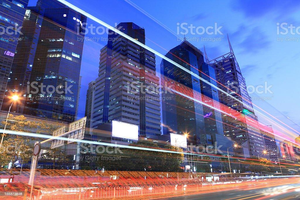 City night royalty-free stock photo