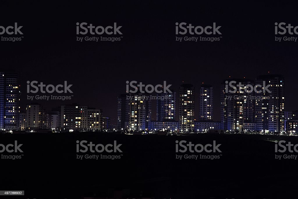 City Night stock photo