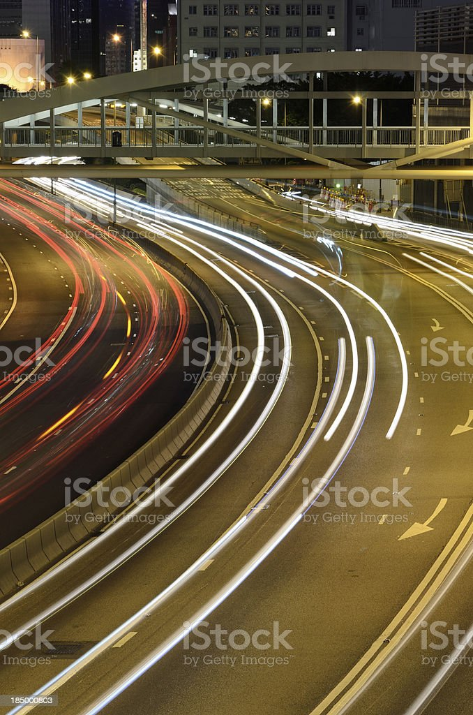 city night scene royalty-free stock photo