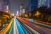 City, Traffic, Road, Highway, China - East AsiaExterior