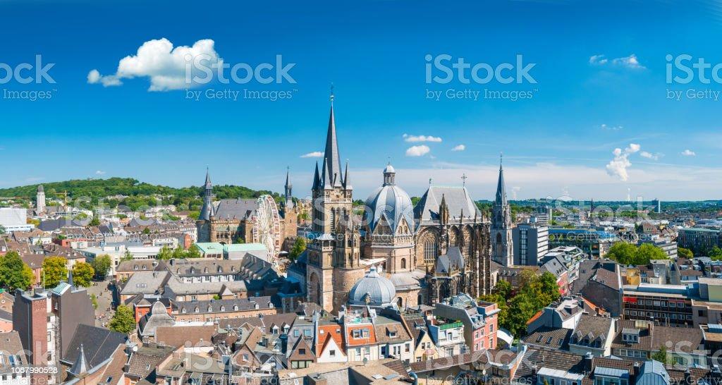 Stadt Aachen, Deutschland - Lizenzfrei Aachen Stock-Foto