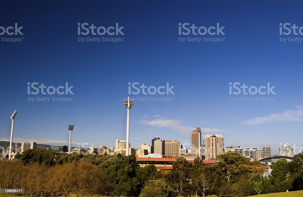 City of Adelaide stock photo