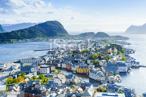 istock City of Alesund, Norway 1159183268