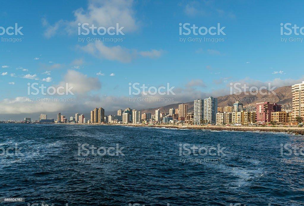 city of Antofagasta stock photo