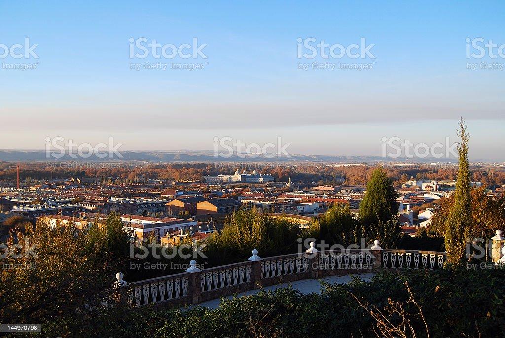 Ciudad de Aranjuez - foto de stock