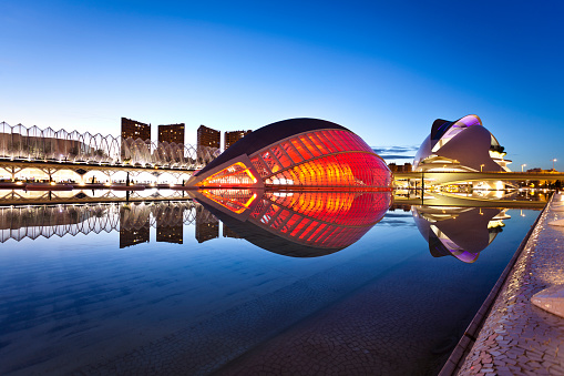 City of arts and Sciences at Valencia, Spain