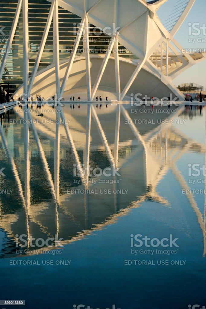City of Arts and Sciences, Valencia, Spain stock photo