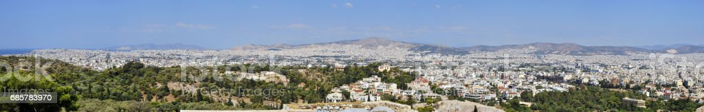 City of Athens royalty-free stock photo