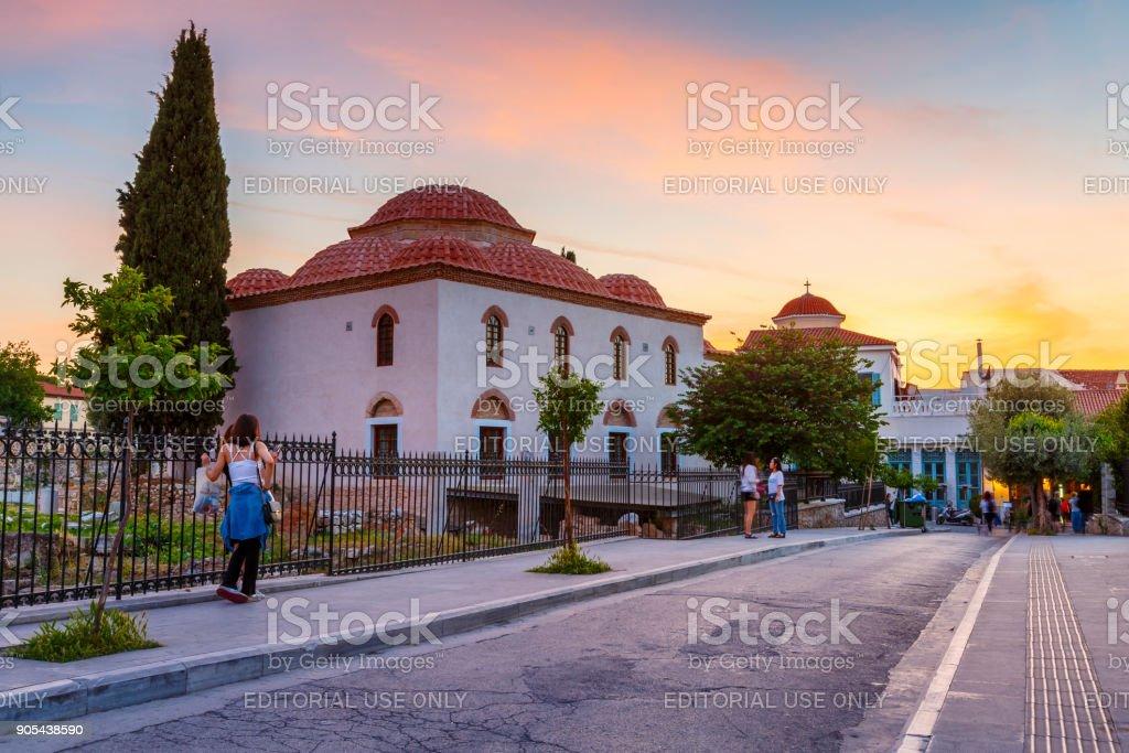 City of Athens. stock photo