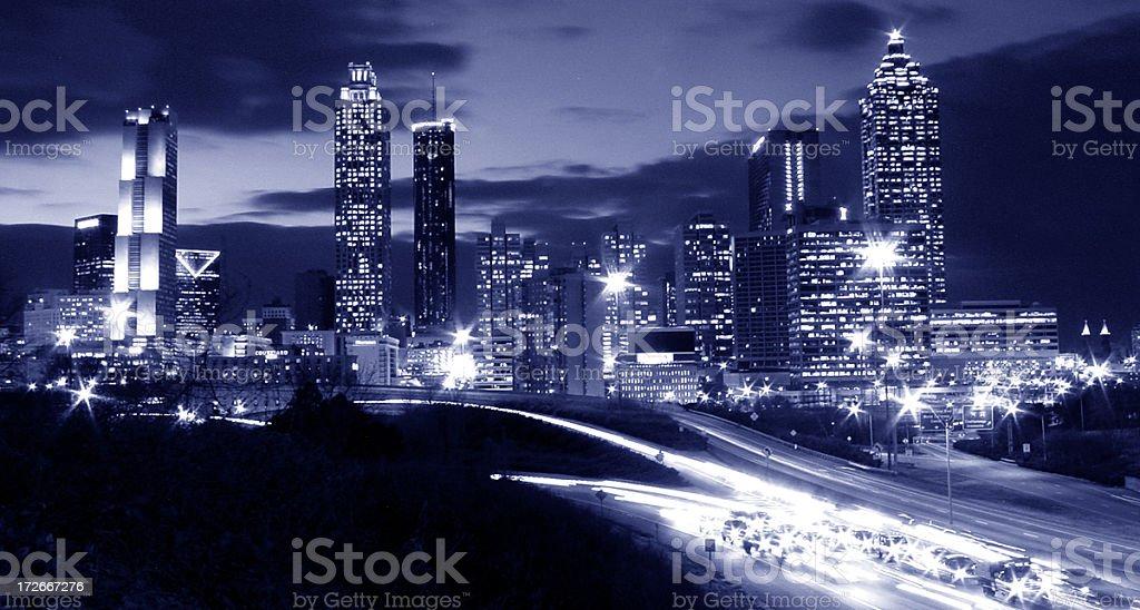 City of Atlanta stock photo