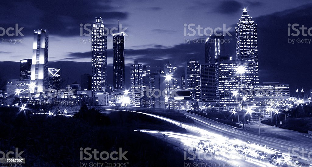 City Of Atlanta royalty-free stock photo