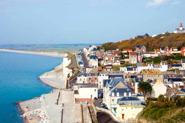 City of Ault, North Coast of France City of Ault, North Coast of France hauts de france stock pictures, royalty-free photos & images
