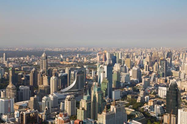 City of Bangkok central business downtown圖像檔