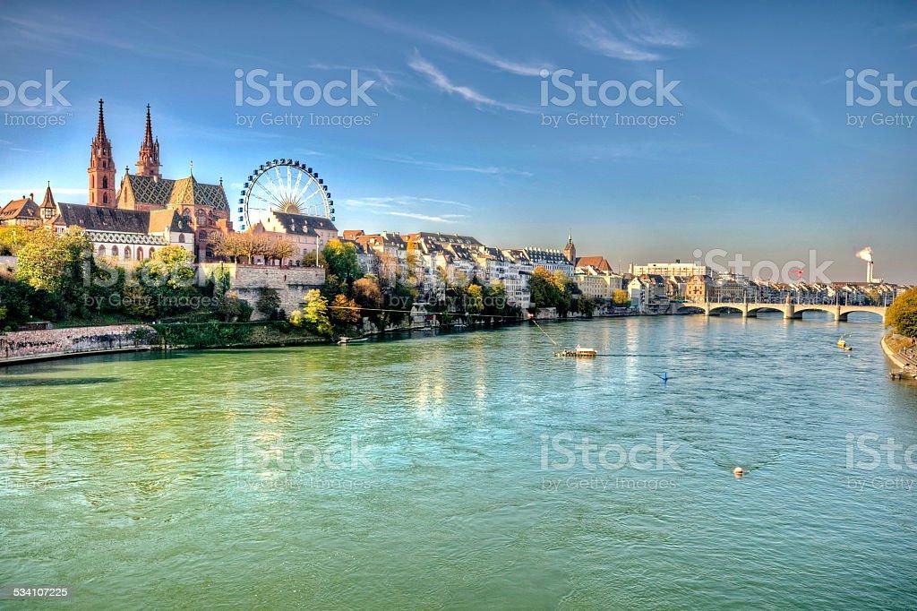 Stadtzentrum von Basel in der Schweiz – Foto