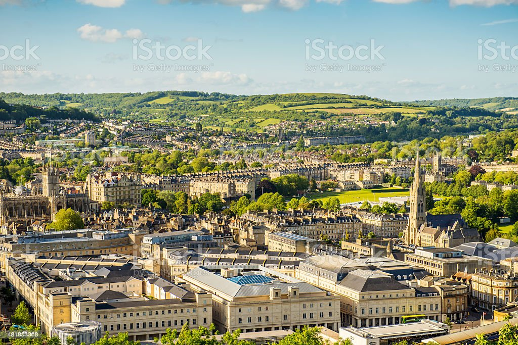 City of Bath stock photo