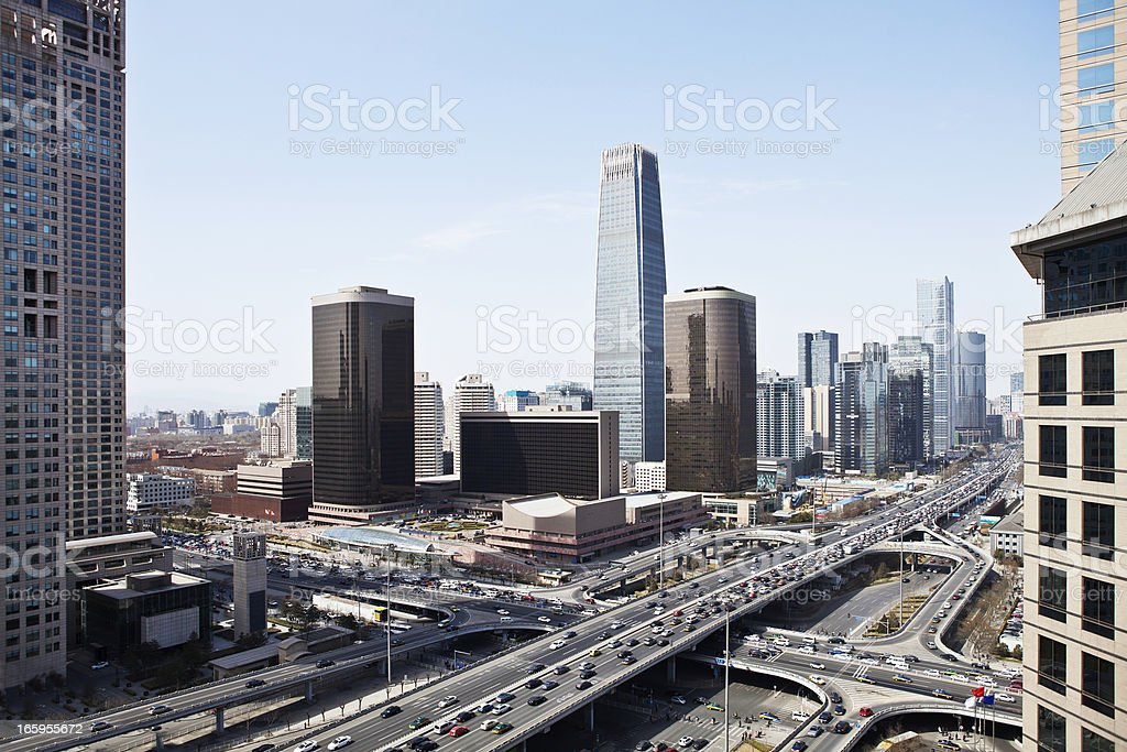 city of beijing royalty-free stock photo