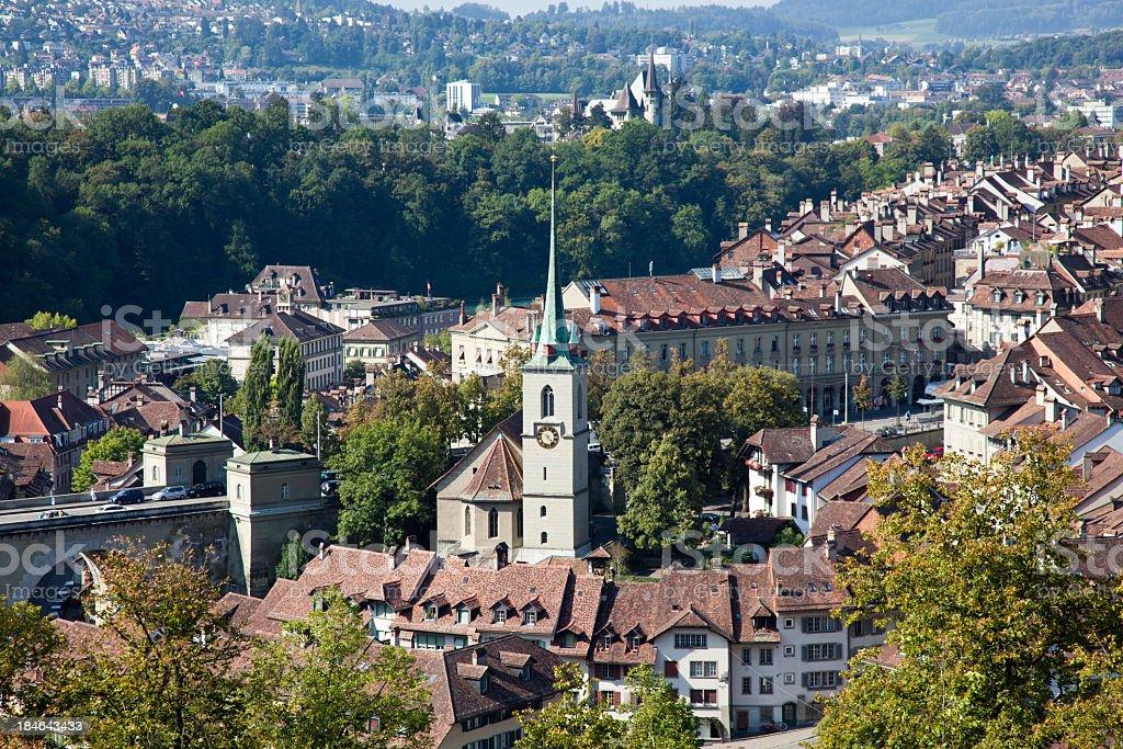 City of Bern, Switzerland royalty-free stock photo