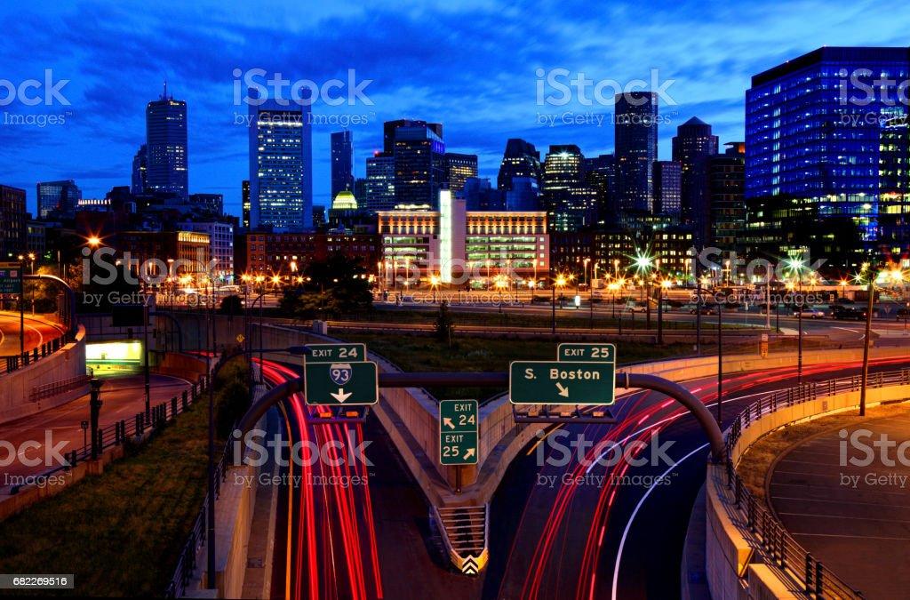 City of Boston stock photo