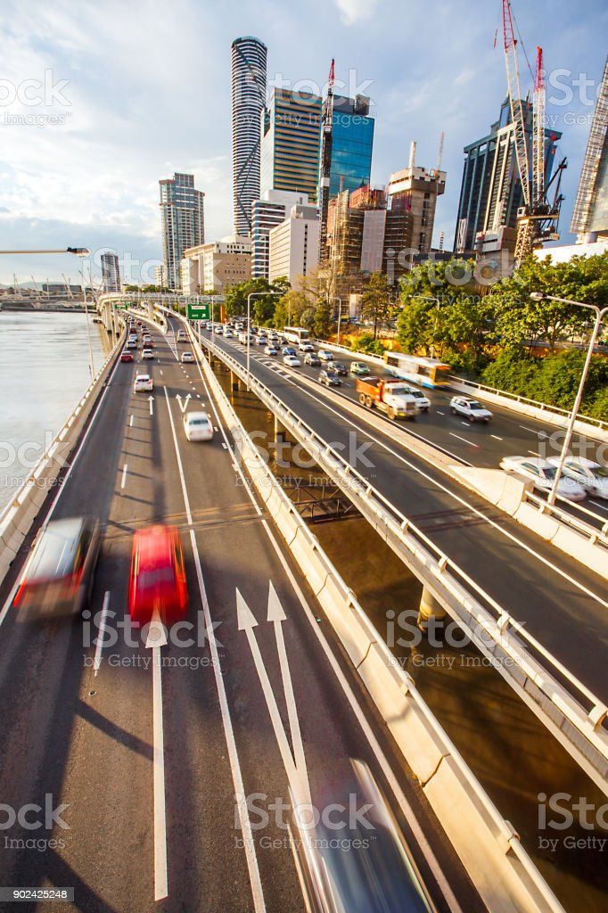 City of Brisbane Queensland Australia stock photo