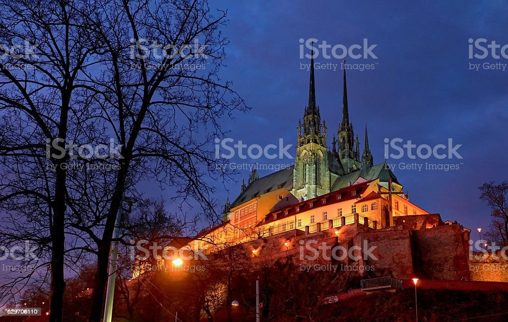 City of Brno, Petrov stock photo