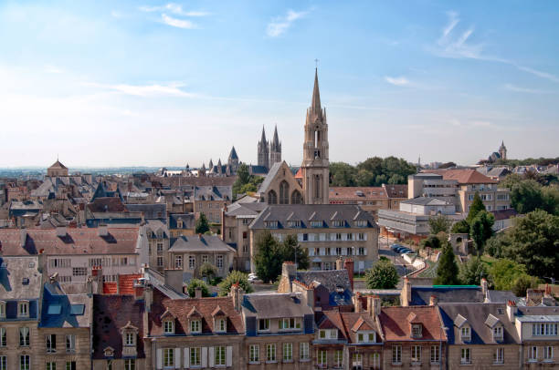 city of caen - caen stock pictures, royalty-free photos & images