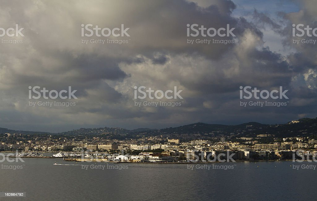 City of Cannes royalty-free stock photo