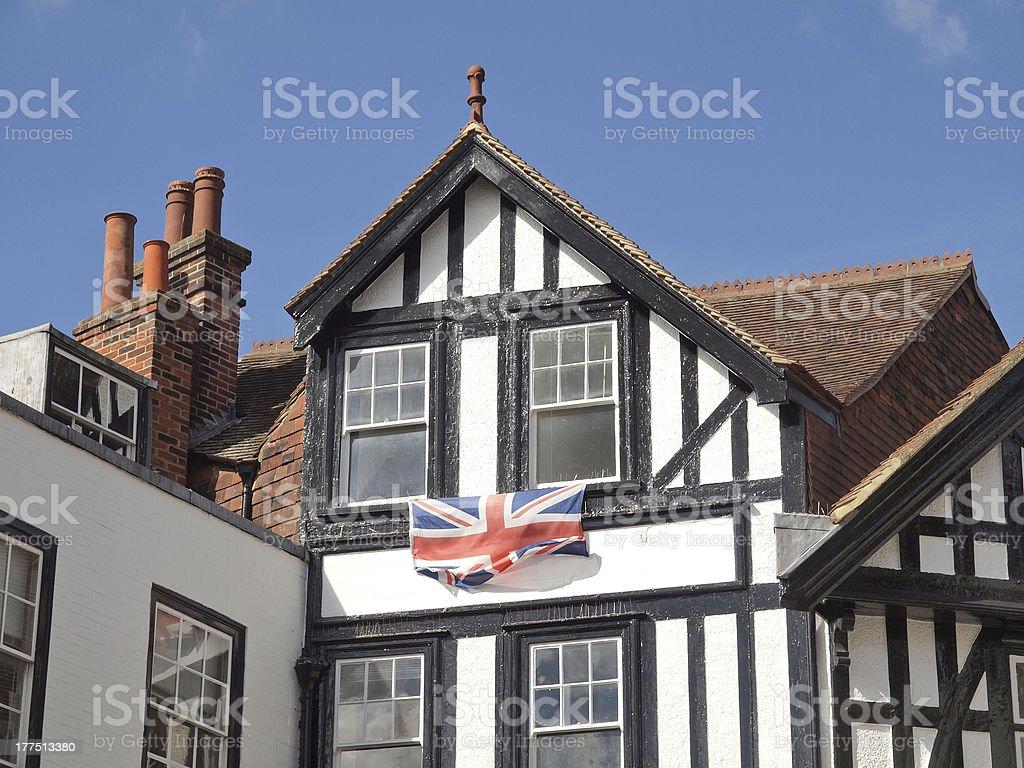 City of Canterbury royalty-free stock photo