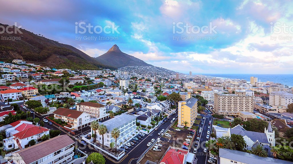 City of Cape Town, South Africa. stock photo