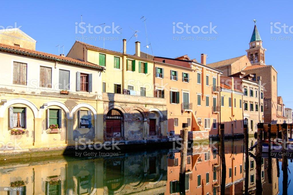 City of Chioggia, the little Venice stock photo