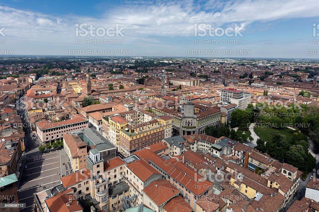 City of Cremona, Italy stock photo