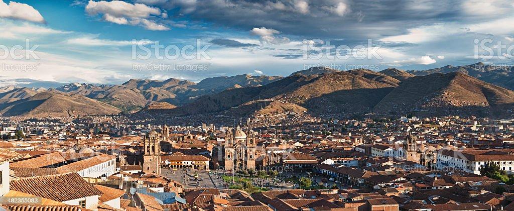 City of Cuzco stock photo