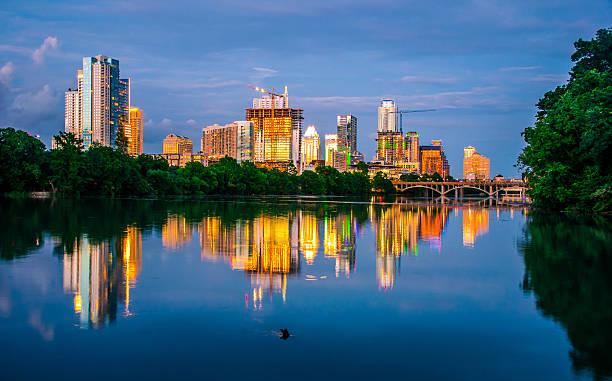 City of Dreams Diamond in a Rough Austin TX stock photo