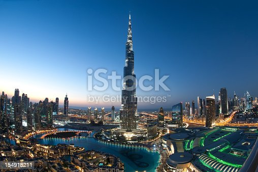 istock City of Dubai Burj Khalifa 154918211