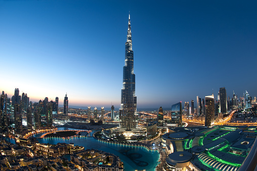 gorgeous image of dubai cityscape after sunset, please also check the other brilliant collections below.