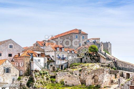 Croatia, Dubrovnik, Fortress Lovrijenac, National Landmark, Adriatic Sea
