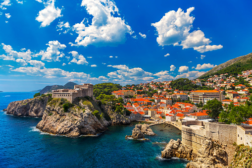 City Of Dubrovnik Stock Photo - Download Image Now