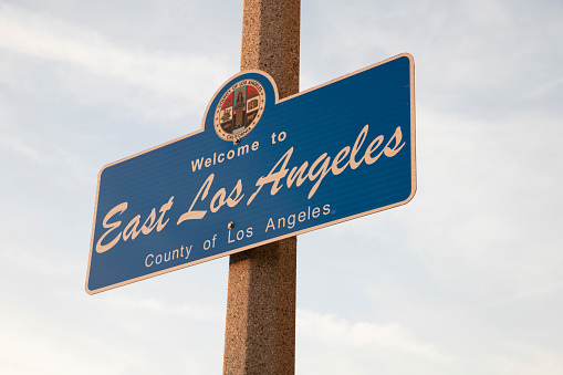 City of East Los Angeles Sign
