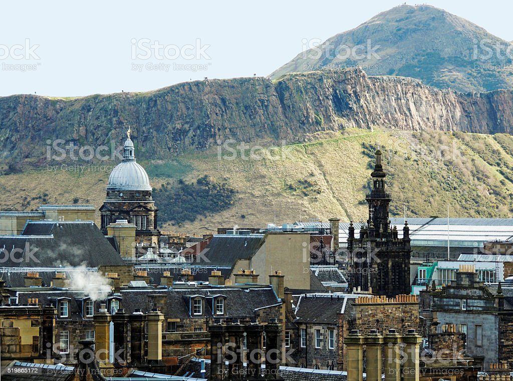 City of Edinburgh, Scotland stock photo