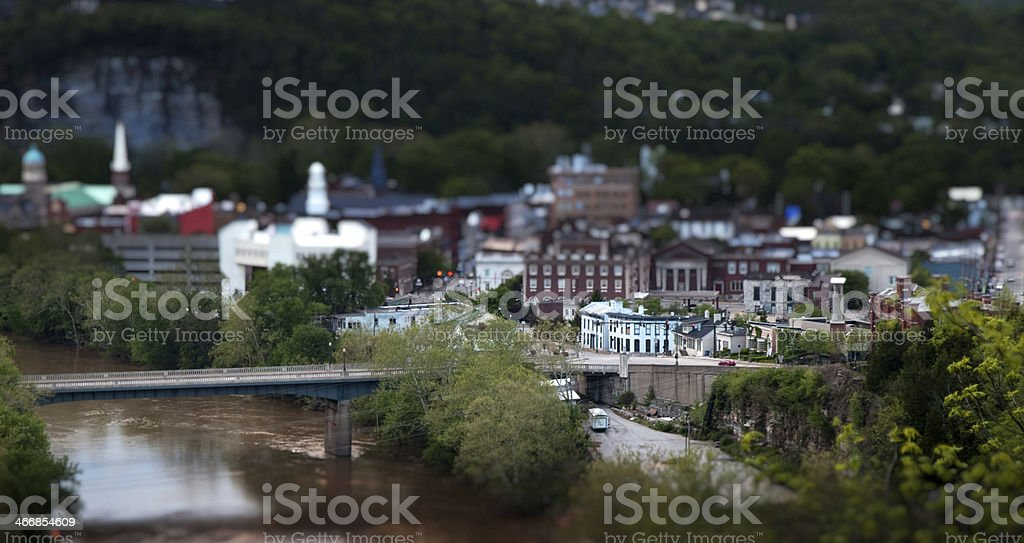 City of Frankfort royalty-free stock photo