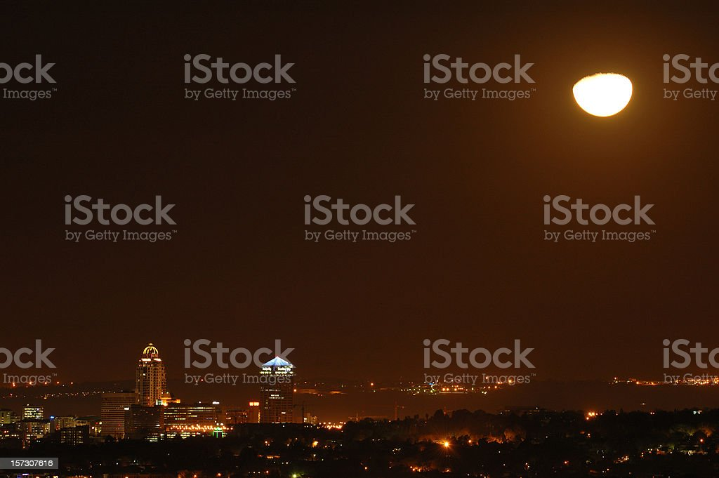 City of Gold royalty-free stock photo