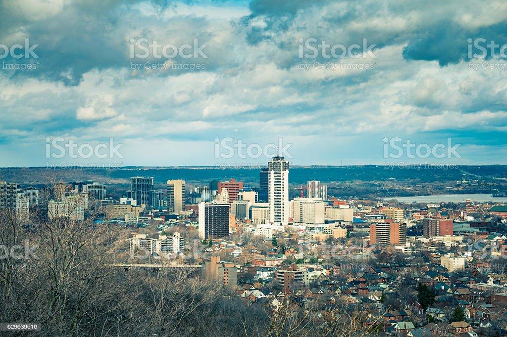 City of Hamilton Ontario Canada stock photo