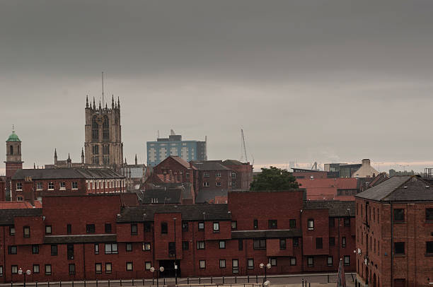 city of hull, yorkshire, england - hull stock pictures, royalty-free photos & images
