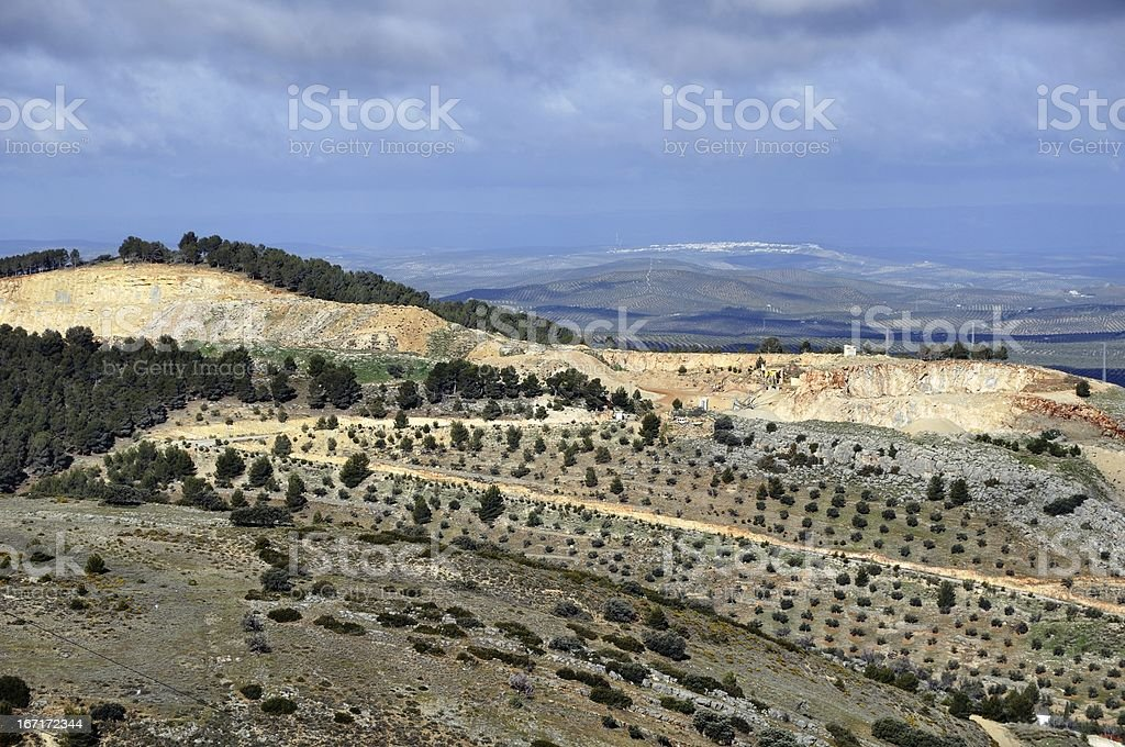 City of Jaen, Andalusia, Spain royalty-free stock photo