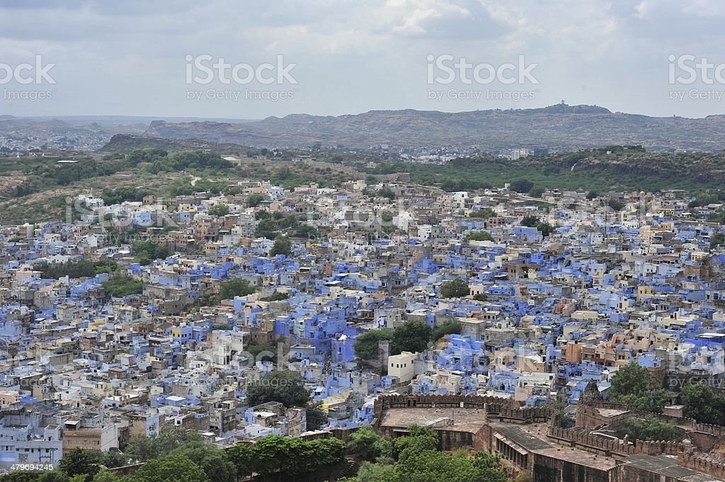 city of Jodhpur royalty-free stock photo