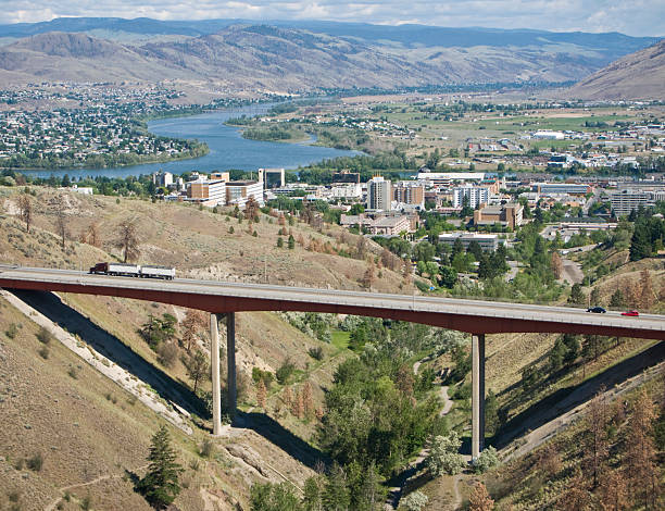 City of Kamloops stock photo