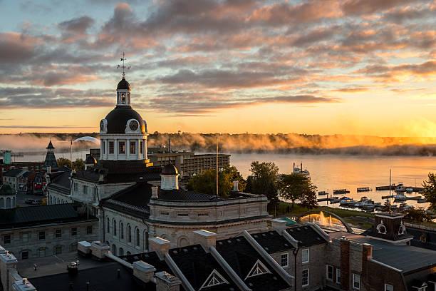 City of Kingston Ontario, Canada at Sunrise – Foto
