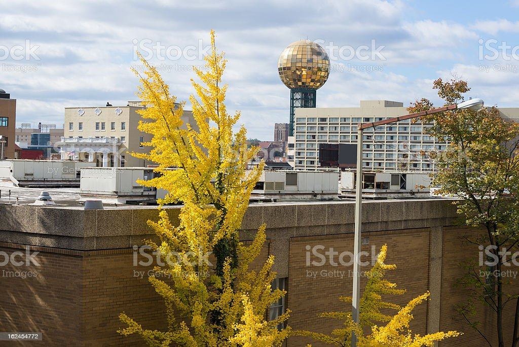 City of Knoxville, Tennessee stock photo