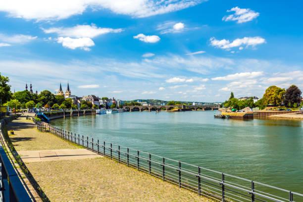 City of Koblenz stock photo
